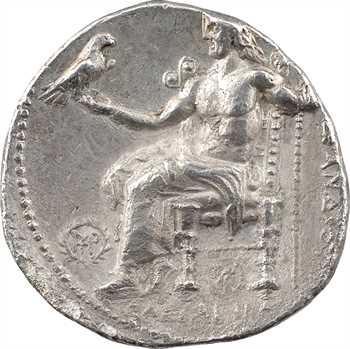 Macédoine, Cassandre (au nom d'Alexandre le Grand), tétradrachme, Babylone, c.317-311 av. J.-C