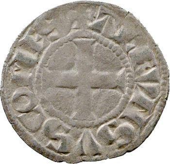 Poitou, Poitiers (comté de), Alphonse de France, denier