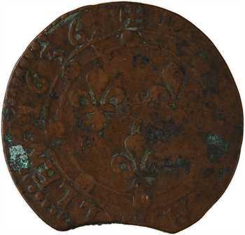 Ardennes, Charleville (principauté de), Charles Ier de Gonzague, double tournois 16e type, 1636 Charleville