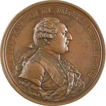 Louis XVI, les mines d'Allemont, par Dupré, 1786 Paris
