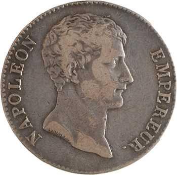 Premier Empire, 5 francs buste intermédiaire, An 12 Paris