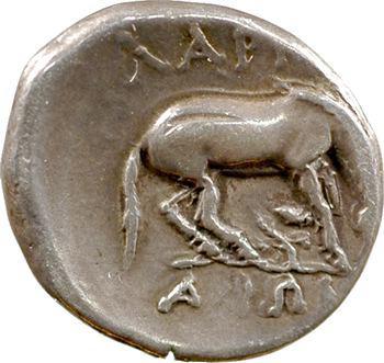 Thessalie, Larissa, drachme, c.356-342 av. J.-C.