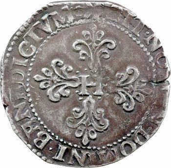 Henri III, franc au col plat, 1580 Bordeaux