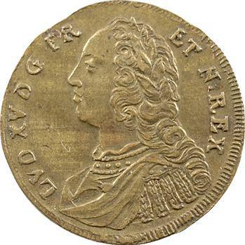 Louis XV, jeton d'imitation nurembergeoise, s.d