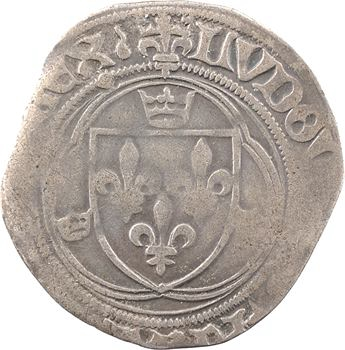 Louis XII, grand blanc à la couronne (larme), cantonnement inversé, Châlons-en-Champagne