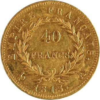Premier Empire, 40 francs Empire, 1813 Paris