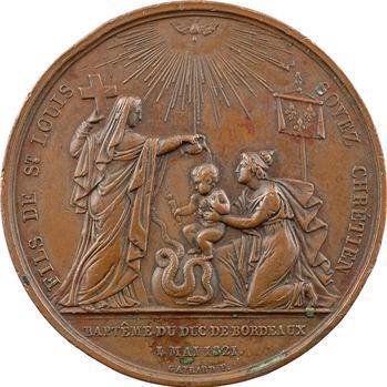 Duc de Bordeaux, son baptême par Gayrard, 1821 Paris
