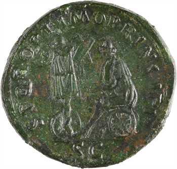 Trajan, sesterce, Rome, 116
