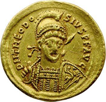 Théodose II, solidus, Constantinople, 425-429