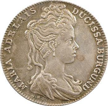 Bourgogne (duché de), Marie-Adélaïde de Savoie, 1704