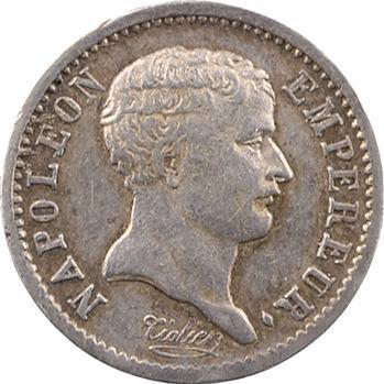 Premier Empire, quart de franc tête de nègre, 1807 Paris