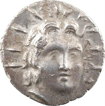 Carie, Rhodes, drachme au nom du magistrat Phainilas, c.88/42 av. J.-C.-14