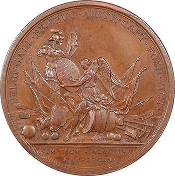 Allemagne, Maurice de Saxe, duc de Courlande et Sémigalle, 1747