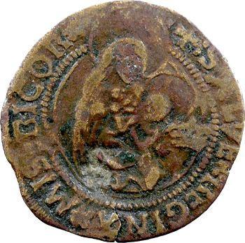 Cambrésis, Cambrai (chapitre de), méreau de VI deniers