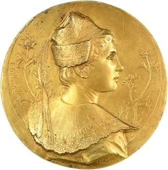 Gilbault (F.) : l'Arlésienne, électrotype doré, s.d