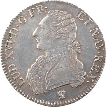 Louis XVI, écu aux branches d'olivier, 1788 Limoges