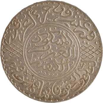 Maroc, Abdül Aziz I, 10 dirhams, AH 1321 (1903) Paris