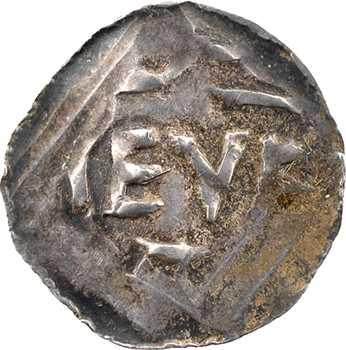 Allemagne, Trèves, Otton III, denier au type de Cologne, s.d. (983-996)