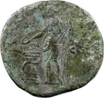 Antonin le Pieux, sesterce, Rome, 144
