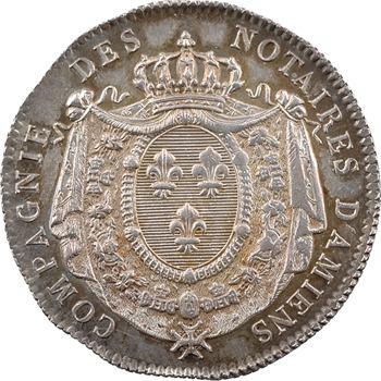Louis XVIII, Picardie, Amiens (notaires d'), par Gatteaux, 1816 Paris