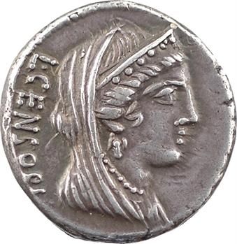 Marcia, denier, Rome, 82 av. J.-C.