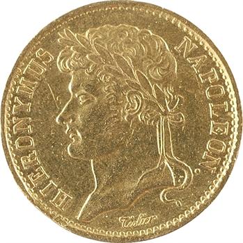 Allemagne, Westphalie (royaume de), Jérôme Napoléon, 20 franken, 1811 Cassel