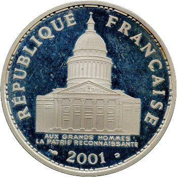 Ve République, 100 francs Panthéon BE, 2001 Pessac