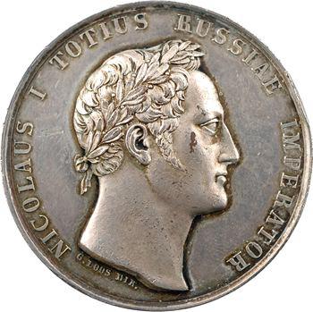 Russie, Nicolas Ier, victoire du comte Hans Karl von Diebitsch sur l'armée turque à Schumla (Choumen), 1829