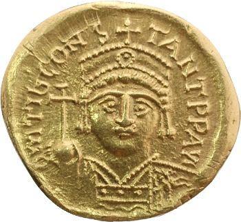 Tibère II Constantin, solidus, Constantinople, 578-582