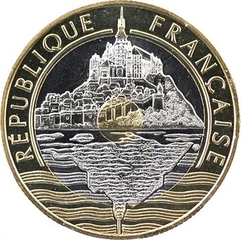 Ve République, essai de 20 francs Mont Saint-Michel, 1992 Pessac