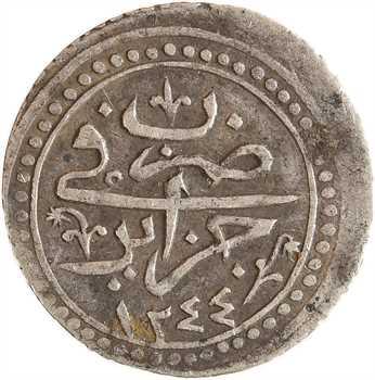 Algérie, Mahmud II, huitième de budju, AH 1244 (1829)