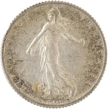 IIIe République, 1 franc Semeuse, 1913 Paris