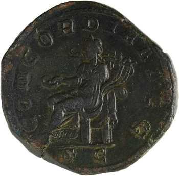 Otacilia Severa, sesterce, Rome, 244-249