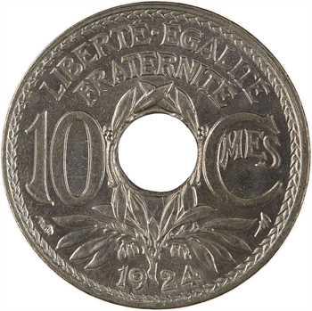 IIIe République, 10 centimes Lindauer, 1924 Paris