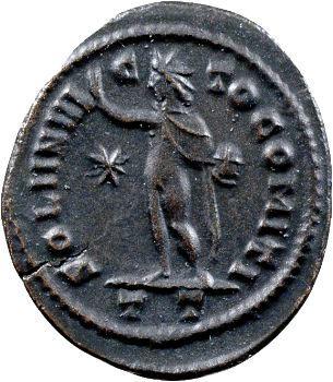 Constantin Ier, follis, Ticinum, 313-314