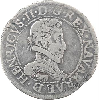 Béarn (seigneurie de), Henri II, franc, 1583 Pau