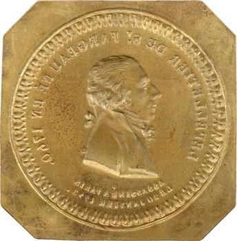 Convention, Lepeletier de Saint-Fargeau, cliché en bronze, s.d. (c.1793)