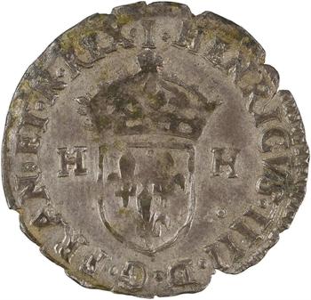 Henri IV, douzain aux 2 H, 2e type, 1594 Limoges