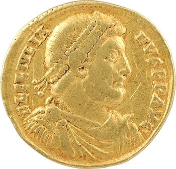 Julien II, solidus, Antioche, 6e officine, 361-363