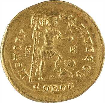 Arcadius, solidus, Sirmium, 2e officine, 395-408