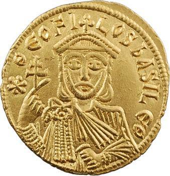 Théophile, solidus, Constantinople, 9e officine, 829-842