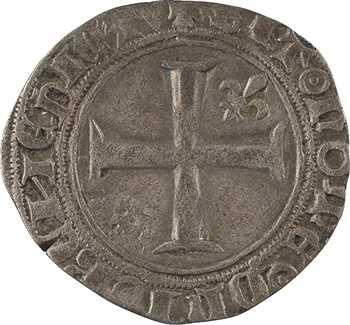 Charles VI, demi-guénar, 2e émission, Poitiers