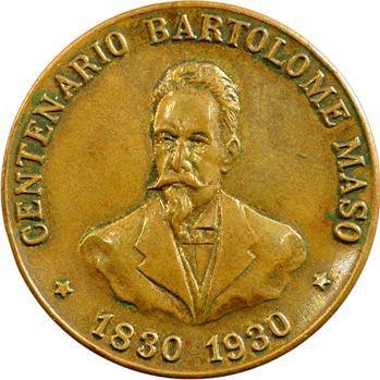 Cuba, La Havane, loge maçonnique du général Bartolome Maso, 1930