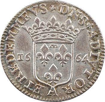 Dombes (principauté de), Anne-Marie-Louise d'Orléans, 5 sols, 1664 Trévoux