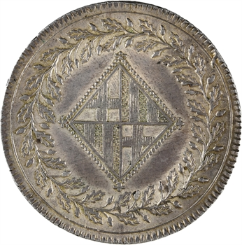 Espagne, Joseph Napoléon, 5 pesetas, 1809 Barcelone