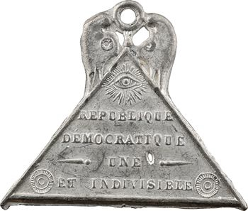 IIe République, adoption de la formule de la Constitution, 1848 Paris