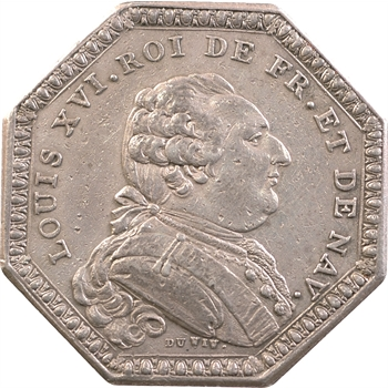 Bretagne (États de), Louis XVI, jeton des États, 1787 Paris
