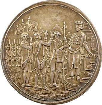 Pays-Bas, serment des citoyens d'Utrecht, 1786