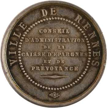 Second Empire, Rennes, conseil d'administration de la Caisse d'Épargnes, s.d. Paris