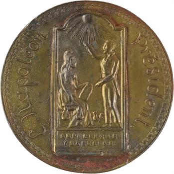 IIe République, avertissement de la République à Louis-Napoléon Bonaparte, 1848 Paris